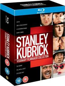 Stanley Kubrick - Visionary Filmmaker Collection [Blu-ray] @ZAVVI.com