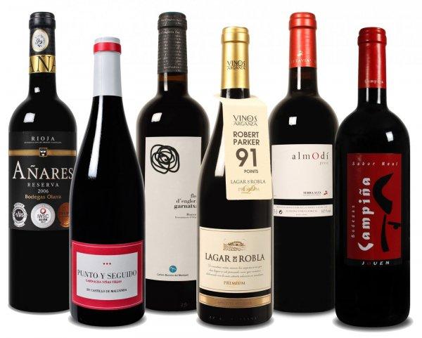 50% Rabatt auf Wein Probierpakete  bei  weinvorteil.de