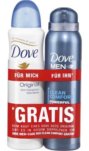 [Offline] Kaufland: 2 x Dove Deo-Spray + 2 x Dove Seife