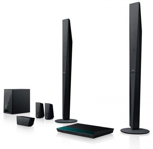 Sony BDV-E4100 5.1 Blu-ray Heimkinosystem (1000 Watt, 3D, W-LAN, Bluetooth, NFC) schwarz [idealo.de: € 319,00, mit qipu € 207,96, max. Ersparnis ca. 34%]