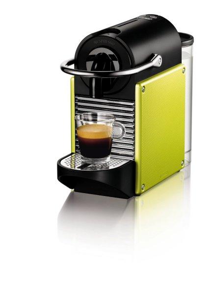 Endspurt! Nespresso Pixie in Lime grün für 89€ bei Amazon inkl. 60€ Kapselguthaben