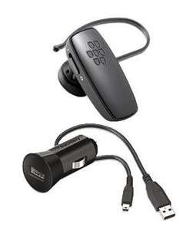 BlackBerry HS-250 Bluetooth Headset & Kfz-Ladegerät für 15€ @Vodafone