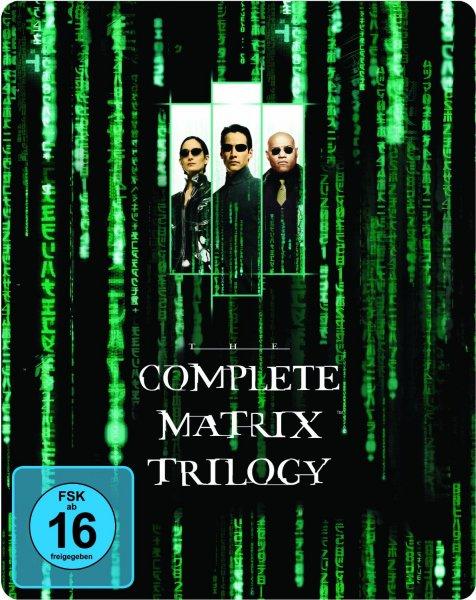 Matrix Trilogy Steelbook [Blu-ray]