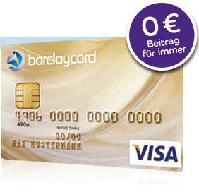 [UPDATE2] Barclaycard Gold Visa dauerhaft beitragsfrei (statt 49,-/Jahr)