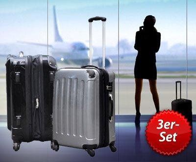 3er Set  Reisekoffer für 99€ inkl. Versandkosten