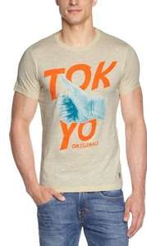JACK & JONES Herren T-Shirt Slim Fit (diverse Farben) für unter 6 € bei Amazon.de (evtl. 3€ VSK)