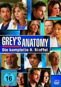 [amazon.de] Grey's Anatomy Staffel 8 - DVD (13,97 € mit Versandkosten)