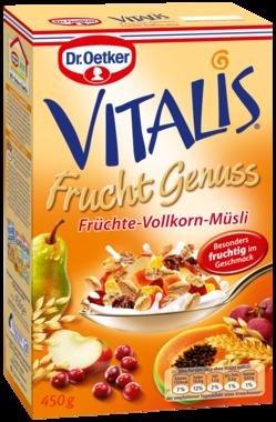[Kaufland Stuttgart-Mühlhausen] Dr. Oetker Vitalis Früchte-Vollkorn-Müsli (-66 Prozent)