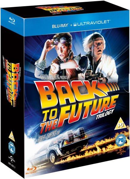 """[zavvi BLU-RAY] """"Zurück in die Zukunft"""" Trilogie-Box"""