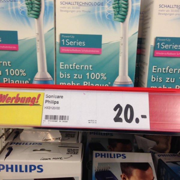 [Bundesweit Kaufland]Philips Sonicare HX3120/00 PowerUp Schallzahnbürste für 20€