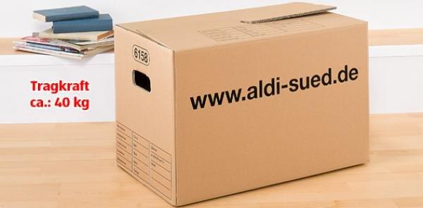 [Offline] Umzugskarton 60 x 35 x 37 cm (L x B x H)  für 1,59€ @Aldi Süd