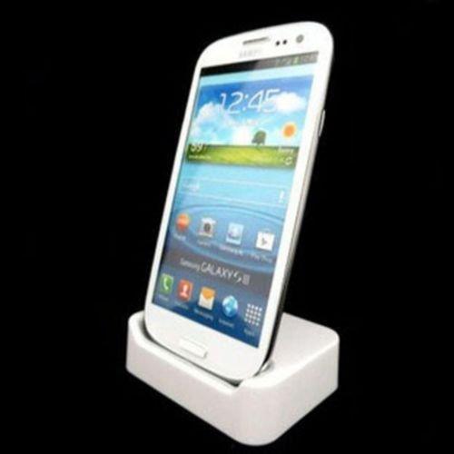 Für Samsung S4 Dockingstation in weiss für 4,99+2,50 € versandkosten