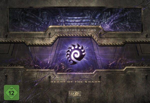 [Amazon/DE]  StarCraft 2 Heart of the Swarm Collectors Edition für 34,97 € [inkl. Versand]