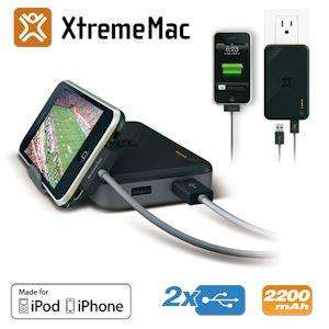 XtremeMac Incharge Portable externer Akku für iPhone und iPod für nur 25,90 Euro inkl. Versand (~42 % Ersparnis!)