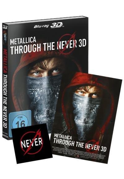 Metallica Through the never Blu-ray 3D (inkl. 2D-Version) limited Edition mit Poster und Aufkleber 19,99 € bei emp minus 10% Neukundenrabatt