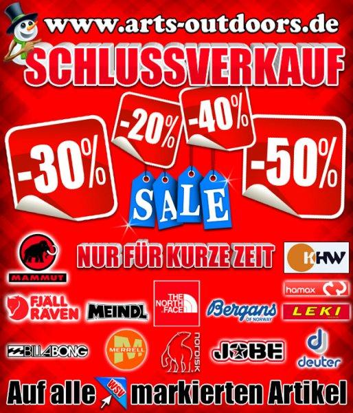 Outdoor Shop WSV - aktuell 2500 Produkte reduziert z.B. 40% auf Mammut Ultimate Hoody Softshelljacke