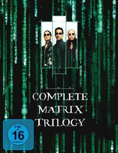 [The Hut UK] Diverse Boxsets 10 % Rabatt z.B. Matrix Trilogie Bluray
