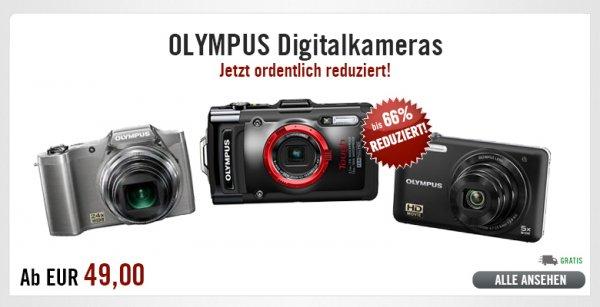 [B-Ware] Diverse OLYMPUS Digitalkameras ab 49€ @ Ebay