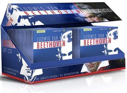 BEETHOVEN EDITION - GESAMTWERK AUF 87 CDS