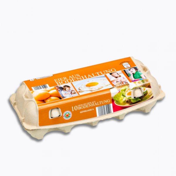 Preis für Eier fällt von 1,29€ auf 0.99€ für 10 Eier aus Bodenhaltung alle Discounter/Supermärkte