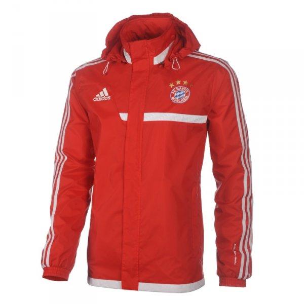 Aktuelle FC Bayern Regenjacke im BIld-Shop inkl. Versand für 42,41€