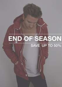 End of Season Sale, bis zu 50%  auf WEMOTO, RVLT, Cayler&Sons