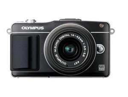 Olympus PEN E-PM2 Systemkamera (16 Megapixel, 7,6 cm (3 Zoll) Touchscreen, bildstabilisiert) Kit inkl. 14-42mm Objekitv@Amazon WHD