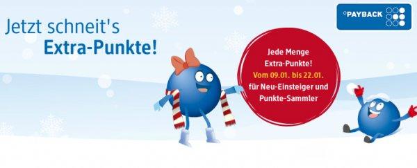 10% Extra Payback Punkte für Wertscheckdruck bei DM bis 22.01.14