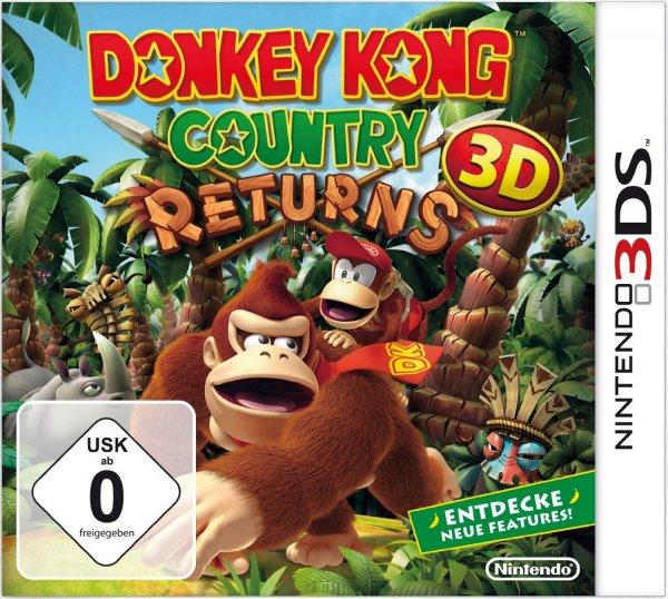 [Amazon.de] Donkey Kong Country Returns 3D [3DS] für 29,50 € Aktueller Bestpreis!