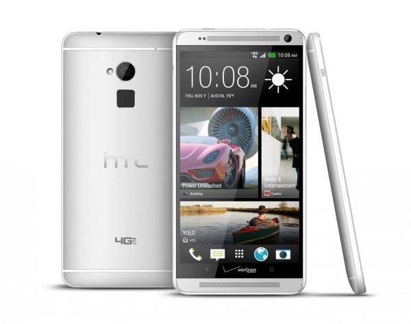 "(UPDATE)HTC ONE Max 16GB Silber Silver 5,9"""", Ohne Simlock , Fingerprintreader"