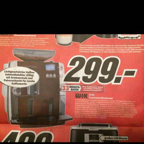 WIK 9752 Espressovollautomat @MM Ludwigsburg