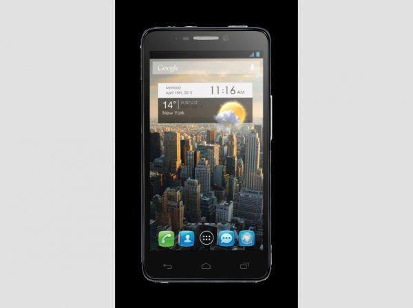 Alcatel One Touch Idol 6030D grau @Saturn