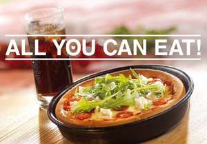 [Lokal] Pizza Hut - All You Can Eat für 7,90 €