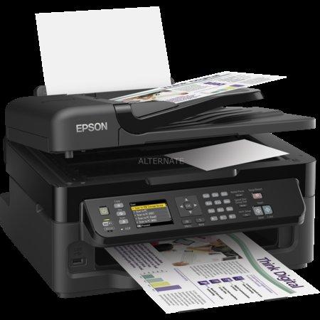 """Epson Multifunktionsdrucker mit Fax """"WorkForce WF-2540WF"""" für 79,85€ @ ZackZack"""