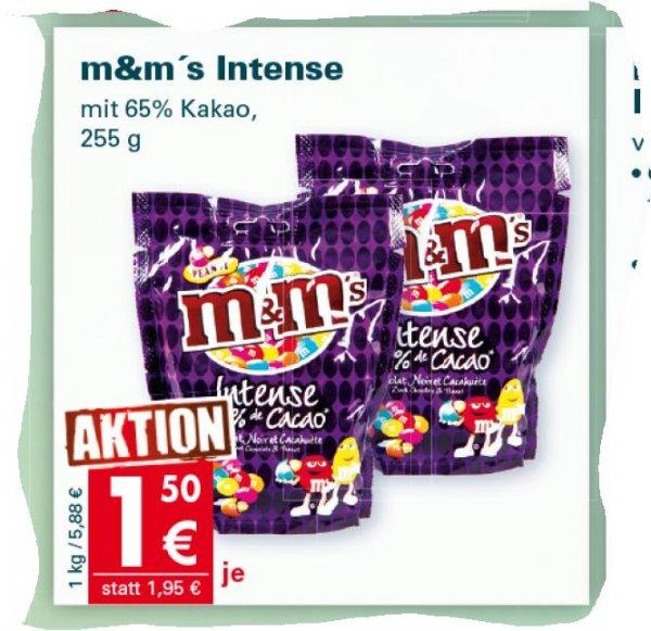 [Mäc Geiz bundesweit ab 20.1.]  255gramm M&M'S Intense(dunkler Schokolade)