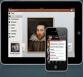 (iOS) Shakespeare Pro - alle Werke, Lebenslauf sowie einem Glossar für 0€ statt 8,90€