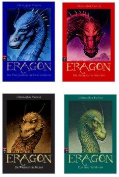 [Mängelexplare] Eragon - Alle 4 Bücher im Bundle (Hardcover)