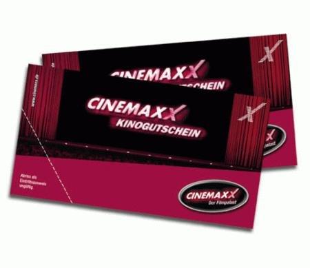 CinemaxX-Kinogutschein für 5 Euro (maximaler Wert: 12,70 Euro)