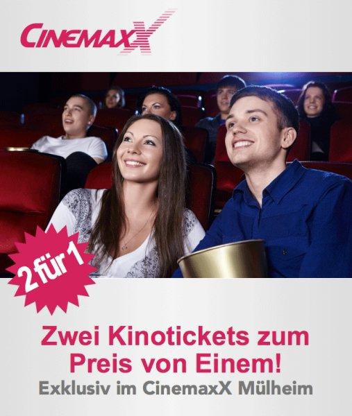 [Lokal] CinemaXX Mülheim / Ruhr : 2 für 1 Aktion