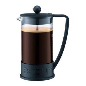 Bodum Brazil French Kaffeebereiter, schwarz, 1 Liter, für 19 € @ Amazon.co.uk