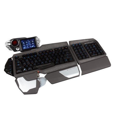 Mad Catz S.T.R.I.K.E. 7 Gaming Tastatur (Deutsch, Touchscreen, USB) in schwarz für 199€ @Amazon BLITZ