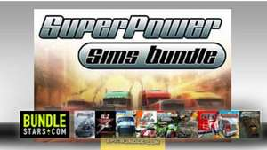 Wieder da- Bundlestars – SUPERPOWER SIMS Bundle - 9 Games – einzelne Steamkeys – 7,87 €