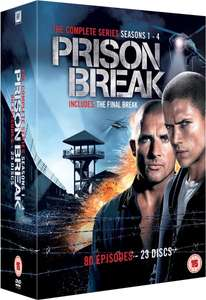 Prison Break - Seasons 1-4 DVD @zavvi.com