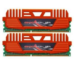 GEIL Enhance CORSA 8GB Kit DDR3 PC3-12800 CL9 (GEC38GB1600C9DC) für 54,90 € @Amazon.co.uk