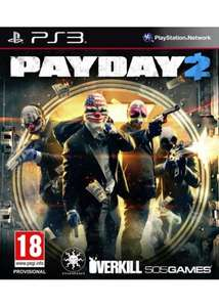 Payday 2 (PS3/360) für 20€ @Base.com