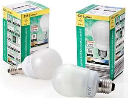 (Aldi Süd offline) LIGHTWAY® Ultra-Mini-Energiesparlampe (Osram)  je 2,99  € ab 20.01.