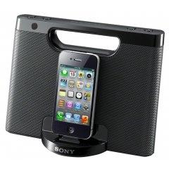 SONY RDP-M7iP schwarz Dockinglautsprecher für iphones (NICHT 5), generalüberholt zu 40 € statt neu zu >60 Euro