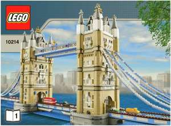Amazon.FR  Lego Tower Bridge 10214 180,48 Euro inkl Versand, Zahlung per KK. 18% Unter Preis
