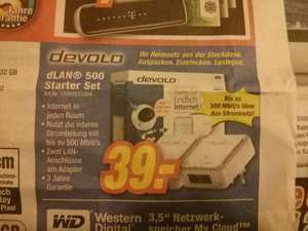 Devolo dlan 500 Starter duo [expert Franken?]