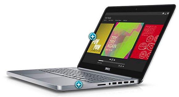 Dell Inspiron 15-7000 wieder für 770€ (Full HD, i7, nVidia GT 750M, Alu-Gehäuse, Win 8 Pro Notebook)